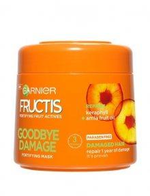Garnier Posilující maska pro poškozené vlasy Fructis (Goodbye Damage Mask) 300 ml