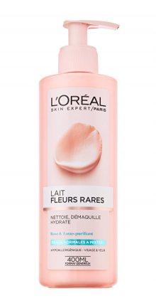 L´Oréal Paris Odličovací mléko s květinovými výtažky pro normální a smíšenou pleť Skin Expert 400 ml