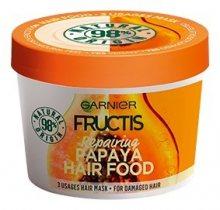 Garnier Obnovující maska na poškozené vlasy Fructis (Papaya Hair Food) 390 ml