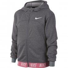 Nike G Dry Hoodie Fz Studio šedá 146