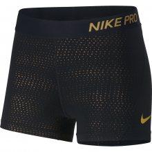 Nike W Short 3In Mtlc Dots černá L