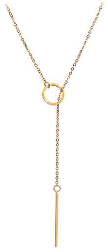 Troli Stylový pozlacený náhrdelník 1969