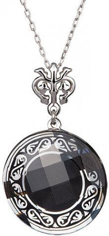 Preciosa Náhrdelník Magical Ornament černý 6028 20 (řetízek, přívěsek)