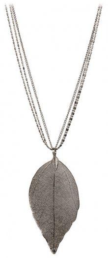 Troli Měděný náhrdelník s vavřínovým listem Laurel 1794