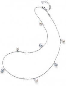 Oliver Weber Ocelový náhrdelník s perličkami Stay 11916