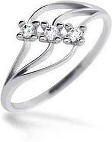 Brilio Dámský prsten s kameny 229 001 00496 07 - 1,20 g 57 mm