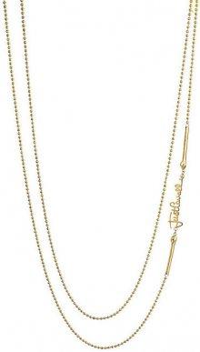 Just Cavalli Dámský pozlacený náhrdelník s logem JCNL00080200