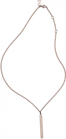 Tommy Hilfiger Elegantní náhrdelník s přívěskem v barvě růžového zlata TH2700568