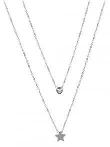 Troli náhrdelník s hvězdičkou z oceli