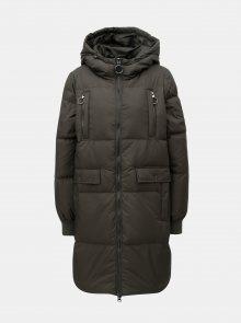 Khaki prošívaný kabát VERO MODA Comfy