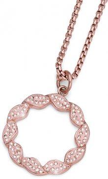 Oliver Weber Bronzový ocelový náhrdelník Pleach 11913RG