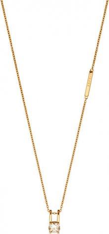 Esprit Pozlacený náhrdelník se zirkonem Lillian ESNL00101242 (řetízek, přívěsek)