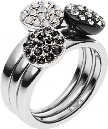 Emporio Armani Sada tří prstenů EGS1969040 58 mm