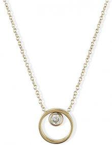 Skagen Dámský ocelový náhrdelník ve zlaté barvě SKJ0837710