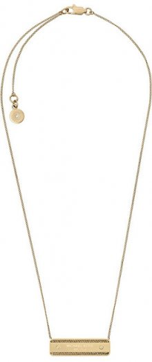 Michael Kors Jemný pozlacený náhrdelník s přívěskem MKJ5891710