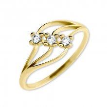 Brilio Dámský prsten s krystaly 229 001 00546 - 1,35 g 52 mm