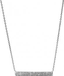 Fossil Ocelový náhrdelník s krystaly JF02145040