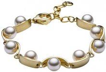 Skagen Dámský ocelový náramek s perličkami SKJ0762710