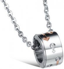 Troli Partnerský náhrdelník pro dámy KNSC-055-FEMALE