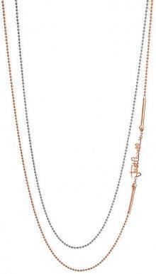 Just Cavalli Dámský bicolor náhrdelník s logem JCNL00080400