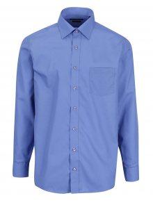 Modrá pánská formální modern fit košile STEVULA Royal