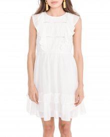 Suman Šaty Vero Moda | Bílá | Dámské | M