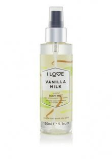 I Love Tělový sprej Vanilla Milk (Body Mist) 150 ml