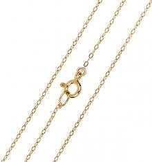 Brilio Elegantní zlatý řetízek Anker 45 cm 271 115 00273 - 1,25 g