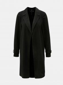 Černý lehký kabát bez zapínání Dorothy Perkins
