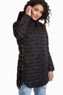 Desigual černý kabát Lucille - 38