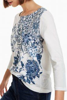 Desigual bílé tričko TS Luka - XS