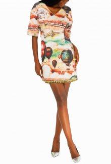 Culito from Spain barevné šaty Globos - S