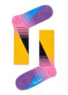 Happy Socks pruhované ponožky Eighties - 41-46