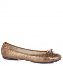 Butterfly Twists zlaté dámské baleríny Penelope Antique Gold Scale - 37
