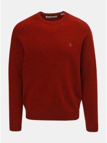 Červený vlněný svetr Original Penguin