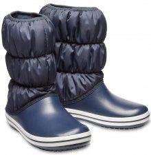 Crocs modré sněhule Winter Puff Boot Navy - W6