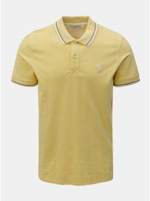 Žluté polo tričko Selected Homme Season
