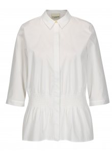 Bílá košile s 3/4 rukávy Selected Femme Camille