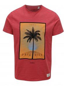 Červené pánské regular fit tričko s potiskem O\'Neill Sonic