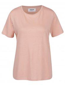 Růžové basic tričko VERO MODA AWARE Ava