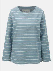 Světle modré dámské pruhované tričko Brakeburn