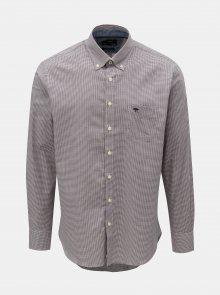 Vínová vzorovaná košile Fynch-Hatton
