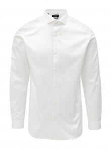 Bílá formální regular fit košile Selected Homme Regsel