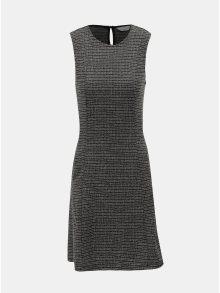 Šedé žíhané šaty Dorothy Perkins Petite