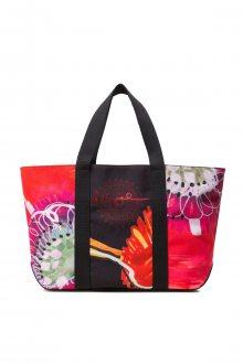 Desigual barevná kabelka Bols Poppy Flower Medina