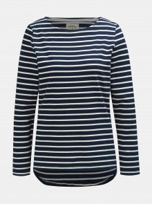 Bílo-modrý dámský pruhovaný lehký svetr Tom Joule