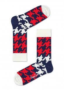 Happy Socks barevné ponožky Dogtooth - 36-40