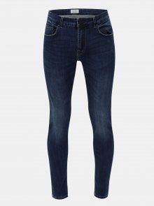 Modré skinny džíny ONLY & SONS