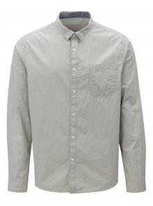 Světle šedá košile Burton Menswear London