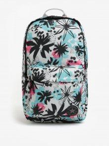 Krémový dámský květovaný batoh Converse EDC Poly 19 l